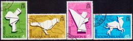 BRITISH SOLOMON ISLANDS 1974 SG #258-61 Compl.set Used UPU Centenary - British Solomon Islands (...-1978)