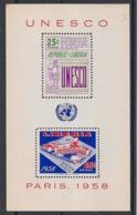 Liberia - 1959 - Bloc Feuillet BF N°Yv. 13 - UNESCO - Neuf Luxe ** / MNH - Liberia