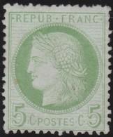 France  .   Yvert   .     53  ( 2 Scans)      .       (*)         .    Pas De Gomme  .    /   .   No Gum - 1871-1875 Cérès