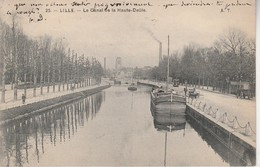59 - LILLE - Le Canal De La Haute Deûle - Lille