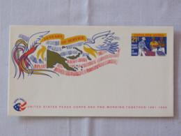Papua New Guinea 1992 Unused Stationery Cover - Peace Corps - Map - Bird - Papua-Neuguinea