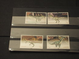 THAILANDIA - 1997 Dinosauri  4 VALORI -  NUOVI(++) - Tailandia