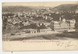 38 - Huy - Vue Générale Prise De La Route De Waremme (N°7) - Hoei
