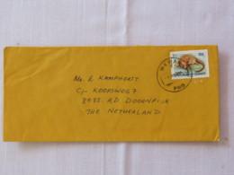 Papua New Guinea 1994 Cover To Holland - Animal - Mammal - Pseudocheirus - Papua-Neuguinea