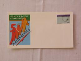 Papua New Guinea 1995 Unused Stationery Cover - South Pacific Commission - Flag - Papua-Neuguinea