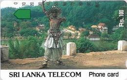 Sri Lanka - STL (Anritsu) - Dancer In Traditional Dress - 100Rs, Mint - Sri Lanka (Ceylon)