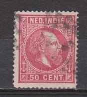 Nederlands Indie 15 Used ; Koning King Roi Rey Willem III 1870 ; NETHERLANDS INDIES P/PIECE - Nederlands-Indië