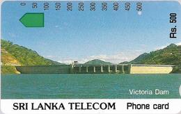 Sri Lanka - STL (Anritsu) - Victoria Dam - 500Rs, Used - Sri Lanka (Ceylon)