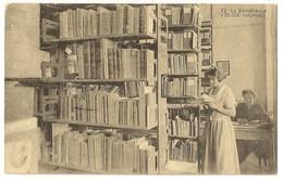 74 -Ecole Ouvrière Supérieure - Rue De Waterloo Bruxelles - La Bibliothèque - Onderwijs, Scholen En Universiteiten