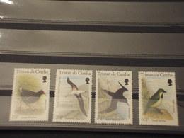 TRISTAN DA CUNHA -  1996 UCCELLI 4 VALORI - NUOVI(++) - Tristan Da Cunha