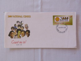 Papua New Guinea 2000 FDC Stationery Cover - National Census - People - Papua-Neuguinea