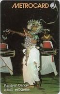 Sri Lanka - Metrocard (Chip) - Kandyan Dancer, SC7, 150Rs, Used - Sri Lanka (Ceylon)