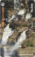 Sri Lanka - Metrocard (Chip) - Rawanaella Falls (Without CN, But Loaded, SC7, 300Rs, Used - Sri Lanka (Ceylon)