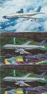 Sabena, Boeing 707- 747. - 1946-....: Ere Moderne