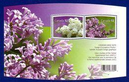 Canada 2007 Flower Lilacs (#2206) Souvenir Sheet MNH ! - 1952-.... Reinado De Elizabeth II