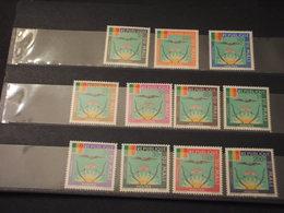 MALI - SERVIZIO - 1965 ARMORIES 11 VALORI - NUOVI(++) - Mali (1959-...)
