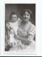 Actress  Postcard Rp Rotary Miss Ruth Vincent And Baby Unused - Theatre