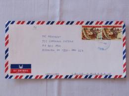 Papua New Guinea 2001 Cover To USA - Breast Feeding - Papua-Neuguinea