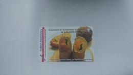 Cuba-federacion De Asociaciones-urmet-(5.00pesos)-mint Card+1card Prepiad Free - Cuba