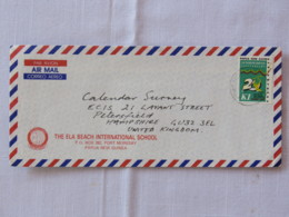 Papua New Guinea 2001 Cover To England - Independance 20 Anniv. - Papua-Neuguinea
