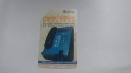 Cuba-nuevos Telephone Blue-urmet-(5.00pesos)-used Card+1card Prepiad Free - Kuba