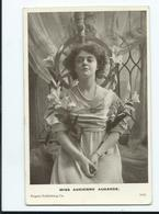 Actress  Postcard Rp Regent Publishing Posted  1905 1035 - Theatre