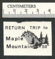 B55-42 CANADA Snowbird Express 1974 Local Post Label 3 MH - Local, Strike, Seals & Cinderellas