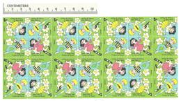 B55-43 CANADA 1973 Crippled Children Easter Seals Sheet MNH - Viñetas Locales Y Privadas