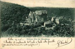 CPA AK Schloss Eltz Bei Moselkern GERMANY (890548) - Germania