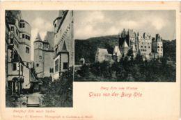 CPA AK Gruss Von Der Burg Eltz GERMANY (890565) - Germania
