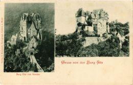 CPA AK Gruss Von Der Burg Eltz GERMANY (890571) - Germania