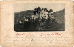 CPA AK Schloss Elz Gruss Von Der Mosel GERMANY (890580) - Germania