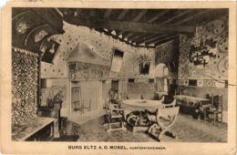 CPA AK Burg Eltz A.d.Mosel Kurfurstenzimmer GERMANY (890586) - Germania
