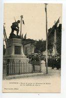 Nontron Remise De Gerbes Au Monument Des Mobiles - Nontron
