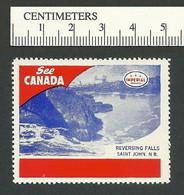 B55-56 See Canada Imperial Oil Reversing Falls NB MNH - Viñetas Locales Y Privadas