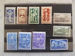 ITALIE Bonnes Valeurs Années 40-50  Neufs Sans Charnières MNH Cote 460 € - 6. 1946-.. Republic