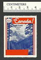 B55-57 See Canada Imperial Oil Banff Jasper Hwy MNH - Viñetas Locales Y Privadas