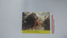 Cuba-chondrothyrium Violaceum-urmet-(7.00pesos)-used Card+1card Prepiad Free - Cuba