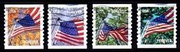Etats-Unis / United States (Scott No.4770-73 - Flag) (o) - Used Stamps