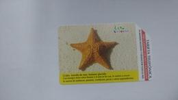 Cuba-estrella De Mar-urmet-(5.00pesos)-used Card+1card Prepiad Free - Kuba