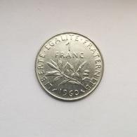 1 Franc Münze Aus Frankreich Von 1960 (sehr Schön) - H. 1 Franc