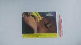 Cuba-pajaro Mosca-urmet-(7.00pesos)-used Card+1card Prepiad Free - Kuba