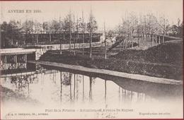 Pont De La Poterne - Actuellement Avenue De Keyser Keyselei Antwerpen Anvers En 1860 (zeer Goede Staat) - Antwerpen