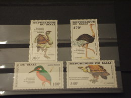 MALI - P.A. 1985 UCCELLI  4 VALORI - NUOVI(++) - Mali (1959-...)
