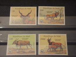 MALI - 1986 WWF FAUNA  4 VALORI - NUOVI(++) - Mali (1959-...)