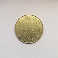 20 Centimes Münze Aus Frankreich Von 1997 (vorzüglich) - E. 20 Centimes