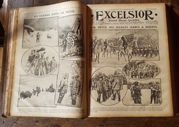 6 Livres De 360 Numéros - Guerre Scientifique Excelsior 1916 - Boeken, Tijdschriften, Stripverhalen