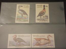 VENDA - 1987 UCCELLI  4  VALORI - NUOVI(++) - Venda