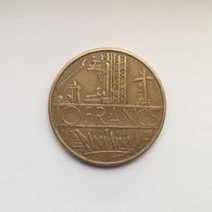 10 Francs Münze Aus Frankreich Von 1976 (sehr Schön) - K. 10 Francs