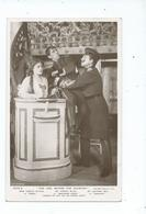 Actor And Actress   Postcard Rp Rotary  Mr. Horace Mills Mr.ackerman May  Miss Coralie Blythe  Posted 1906 - Theatre